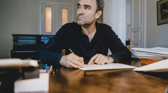 Jörg Widmann Composer-Clarinettist Photo: Marco Borggreve